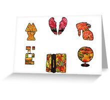 Coldplay fall Greeting Card