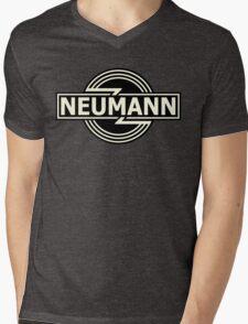 Vintage Neumann Horizontal Mens V-Neck T-Shirt