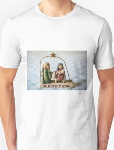 Christmas peace Unisex T-Shirt