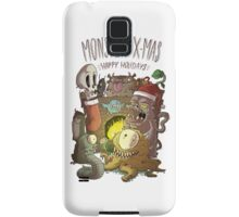 Monster Christmas Samsung Galaxy Case/Skin