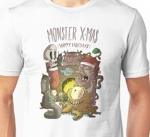 Monster Christmas Unisex T-Shirt