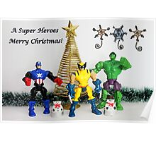 A Super Heroes Merry Christmas! Poster