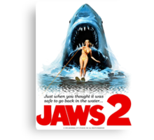 JAWS 2 Canvas Print
