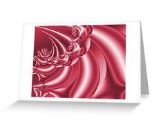 Peppermint Swirl Greeting Card