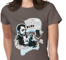 Go Tell it On The Mountain. James Baldwin. For dark fabric. Womens Fitted T-Shirt