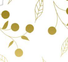 Golden Blossom Sticker