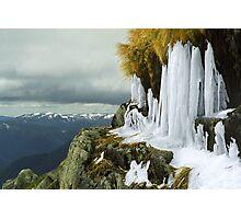 Icicles - Lady Northcotes Canyon Photographic Print