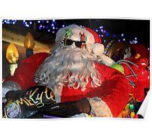 Santa Claus, Jimmy Buffett Style Poster