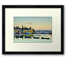 Northwest Cove Framed Print