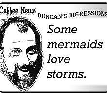 Some Mermaids Love Storms by vancoffeenews