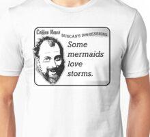 Some Mermaids Love Storms Unisex T-Shirt