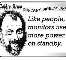 Like People, Monitors Use More Power on Standby by vancoffeenews