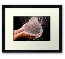 Ball of Life Framed Print
