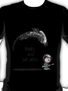 Ripley and the Alien T-Shirt