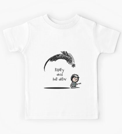 Ripley and the Alien Kids Tee