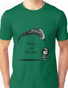 Ripley and the Alien Unisex T-Shirt