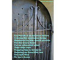 Death's Door Photographic Print