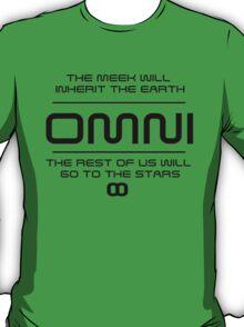 OMNI - The meek shall inherit the earth T-Shirt