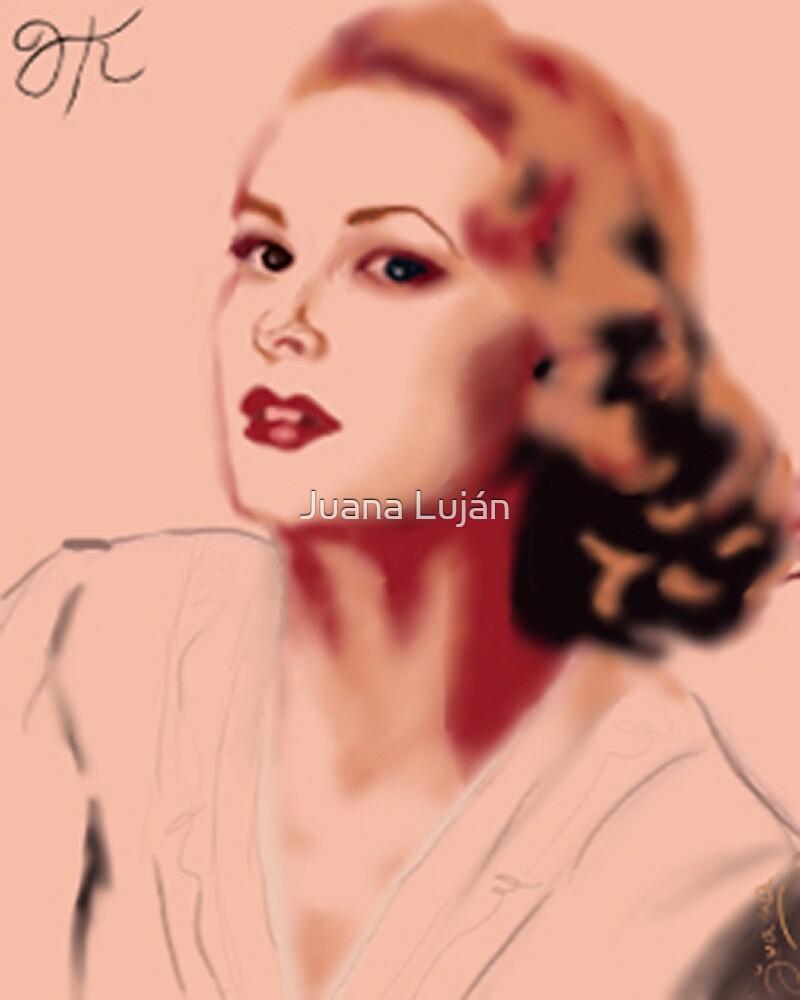 Grace Kelly Illustration by Juana Luján
