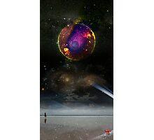 Universe Versus Photographic Print