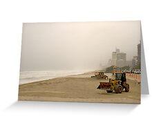 Big boys' beach toys Greeting Card