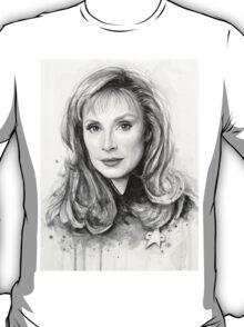 Doctor Beverly Crusher - Star Trek fan Art T-Shirt