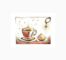 Golden Sweet Truffle with coffee Unisex T-Shirt