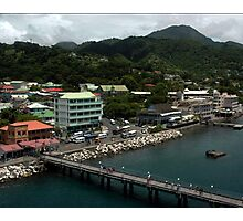 Roseau, Dominica  Photographic Print