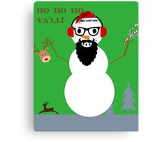 frosty the cool one Canvas Print
