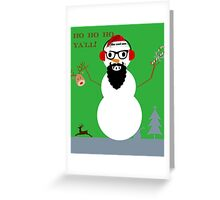 frosty the cool one Greeting Card