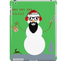 frosty the cool one iPad Case/Skin