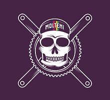 Eddy Merckx skull and cross bones Unisex T-Shirt