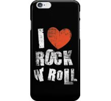 I Love Rock N' Roll iPhone Case/Skin
