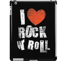 I Love Rock N' Roll iPad Case/Skin
