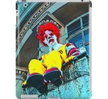 Suicidal clown! iPad Case/Skin