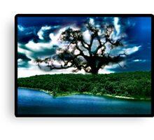 Magic Island Collaboration with Leah Highland Canvas Print