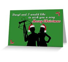 Daryl and I - Christmas Greeting Card