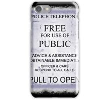 Police Telephone T-Shirt iPhone Case/Skin
