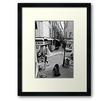 Old Town, Nice Framed Print