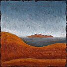 The Olgas from Ayers Rock 01 by Julian  Newman