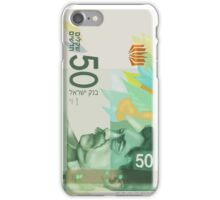50 New Shekel edition note bill iPhone Case/Skin