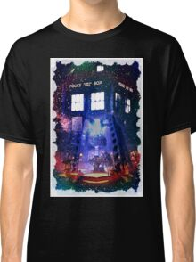 Nebula Public call Box In Space iPhone Case Classic T-Shirt