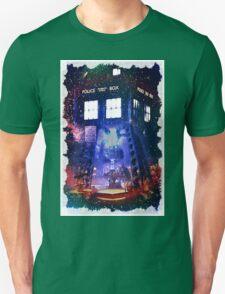 Nebula Public call Box In Space iPhone Case T-Shirt