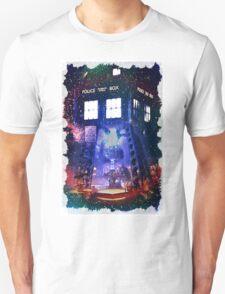 Nebula Public call Box In Space iPhone Case Unisex T-Shirt