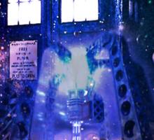 Nebula Public call Box In Space iPhone Case Sticker