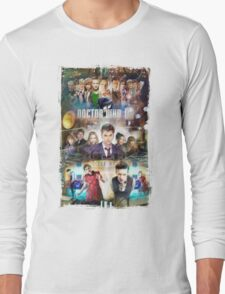Tardis character T-Shirt Long Sleeve T-Shirt