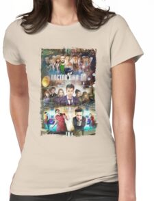 Tardis character T-Shirt Womens Fitted T-Shirt
