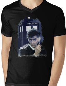 Call Box  Light T-Shirt Mens V-Neck T-Shirt