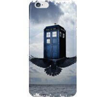 Police Call Box Flying with the Bird iPhone 6 Case iPhone Case/Skin