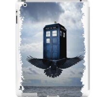 Police Call Box Flying with the Bird iPhone 6 Case iPad Case/Skin